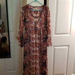 Tops - Floor length cardigan/dress